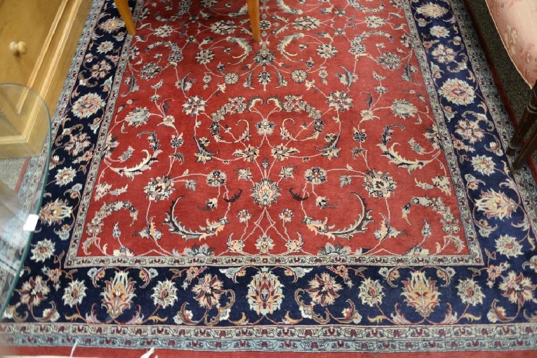 """Oriental area rug. 6' x 9'4"""" - 2"""