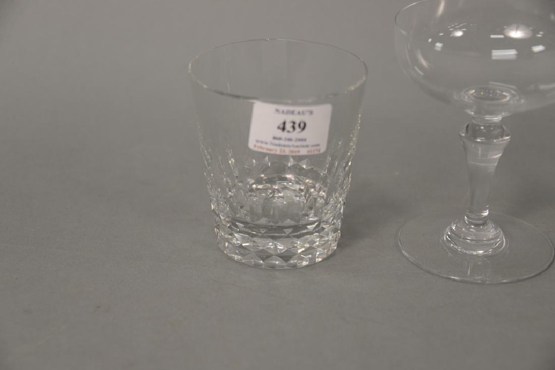 Two sets of Baccarat crystal glasses, set of twelve - 2