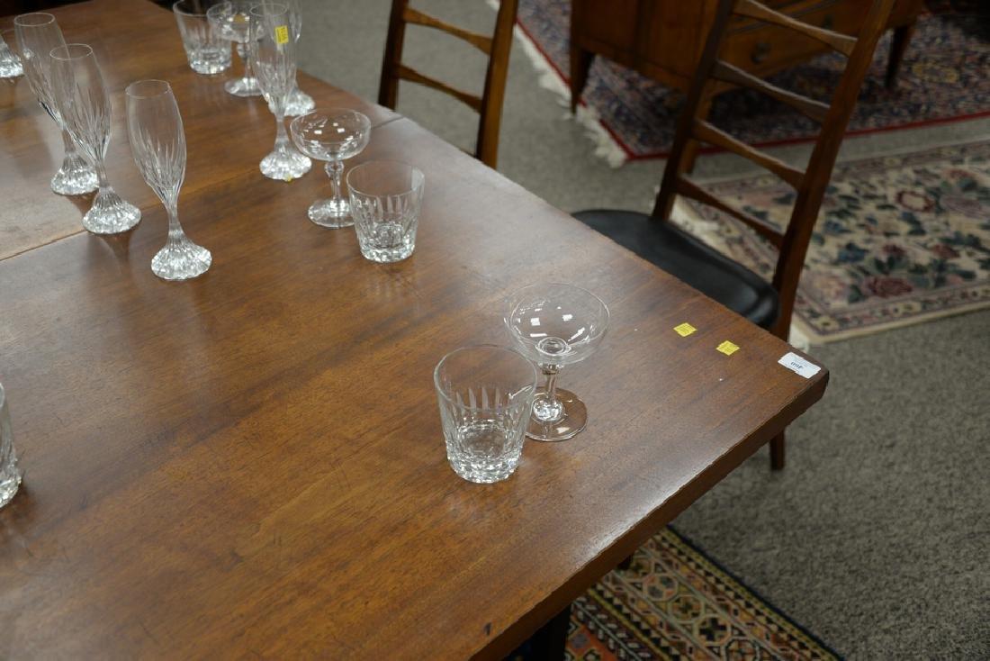 Two sets of Baccarat crystal glasses, set of twelve - 6