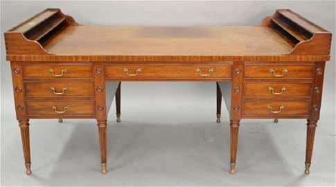 Kittinger George Washington mahogany desk with false