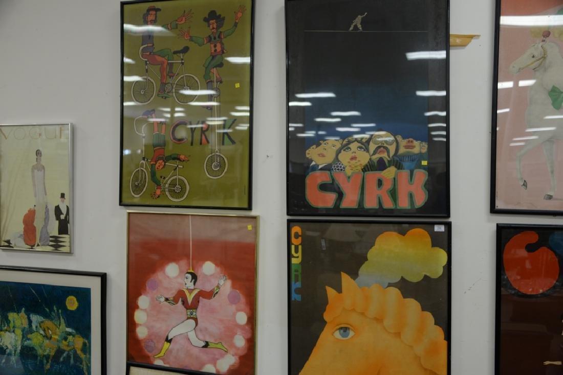 Group of seven Cyrk Vintage posters including Jan Sawka - 2