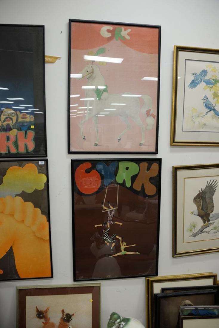Group of seven Cyrk Vintage posters including Jan Sawka - 4