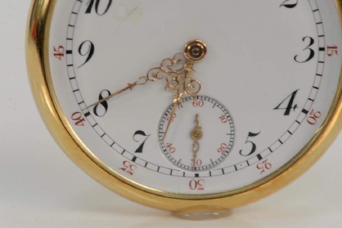 Patek Philippe 18 karat open face pocket watch, made - 2