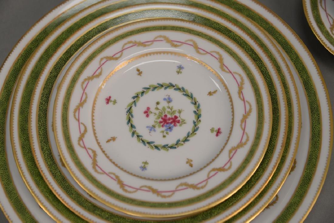"Haviland Limoges 119 piece porcelain dinner set, ""Vieux - 2"