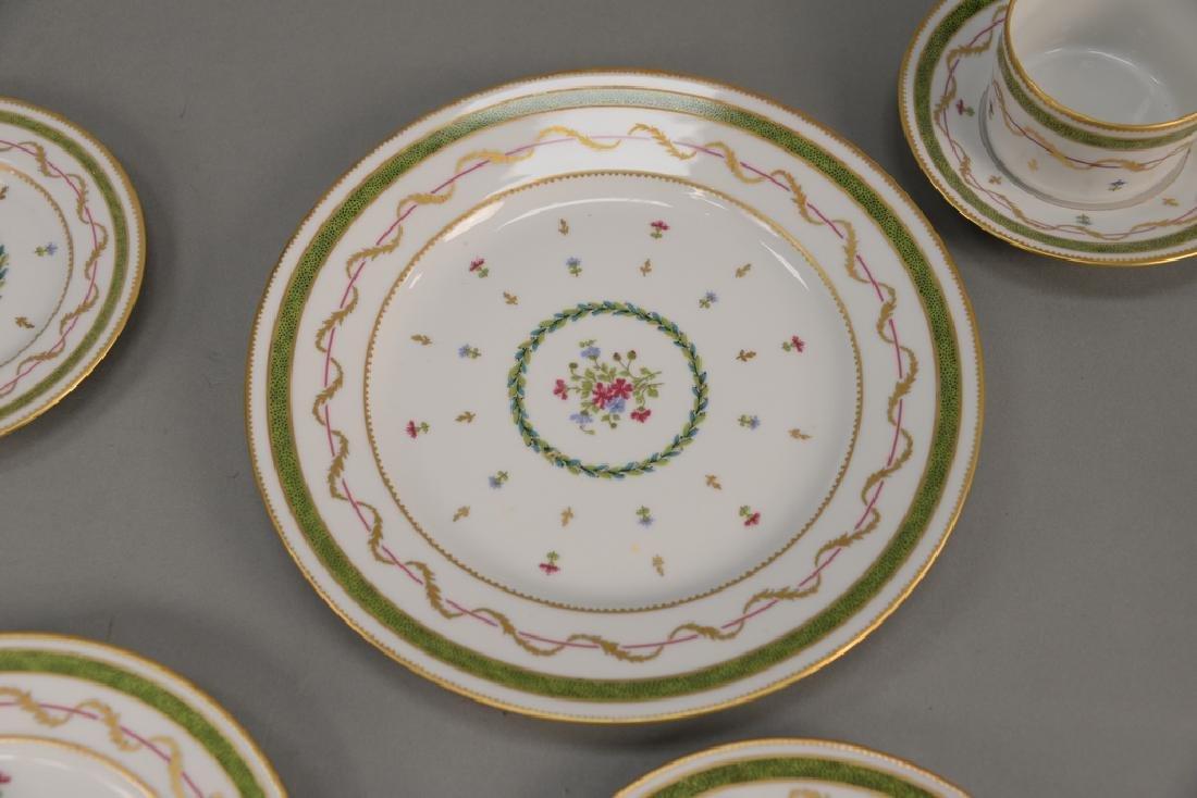 "Haviland Limoges 119 piece porcelain dinner set, ""Vieux - 3"
