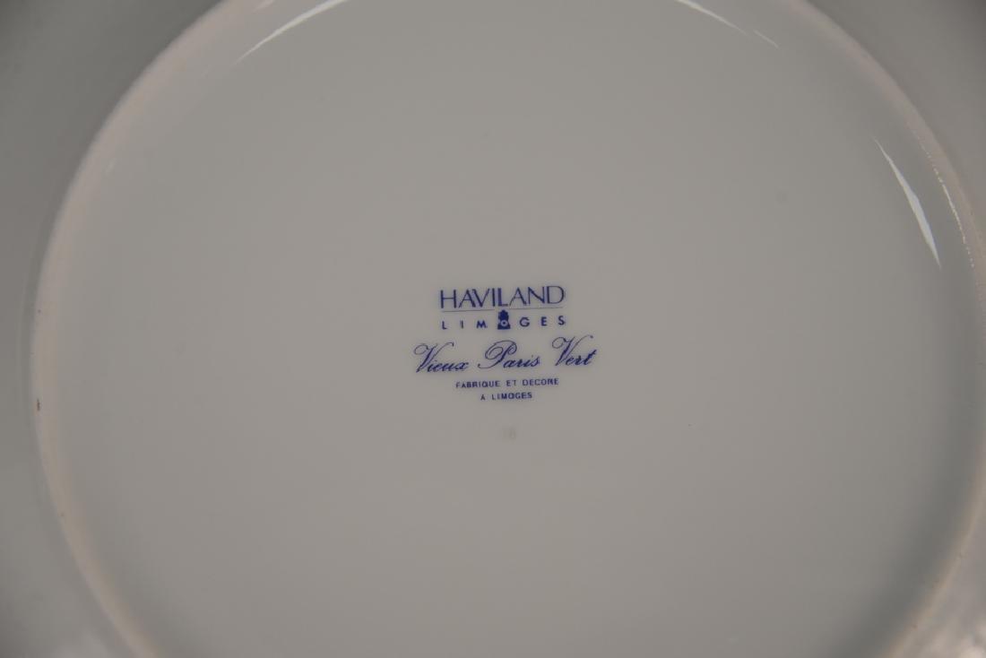 "Haviland Limoges 119 piece porcelain dinner set, ""Vieux - 4"