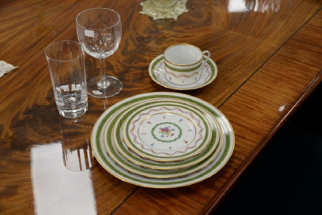"Haviland Limoges 119 piece porcelain dinner set, ""Vieux - 6"