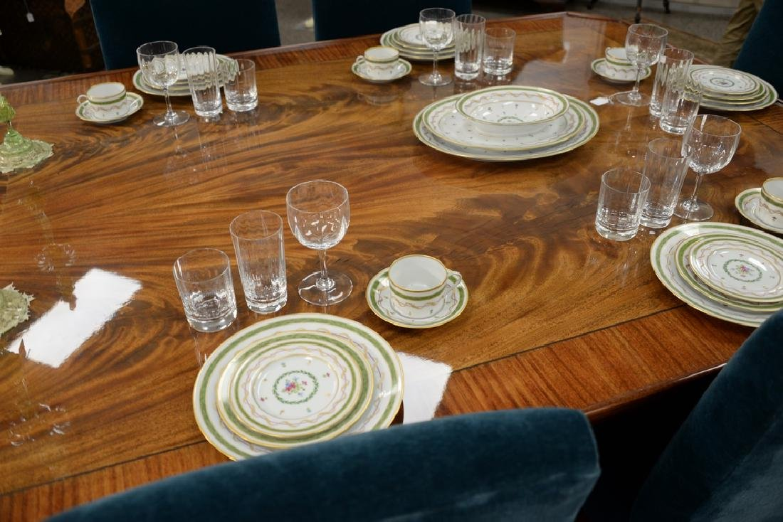 "Haviland Limoges 119 piece porcelain dinner set, ""Vieux - 7"