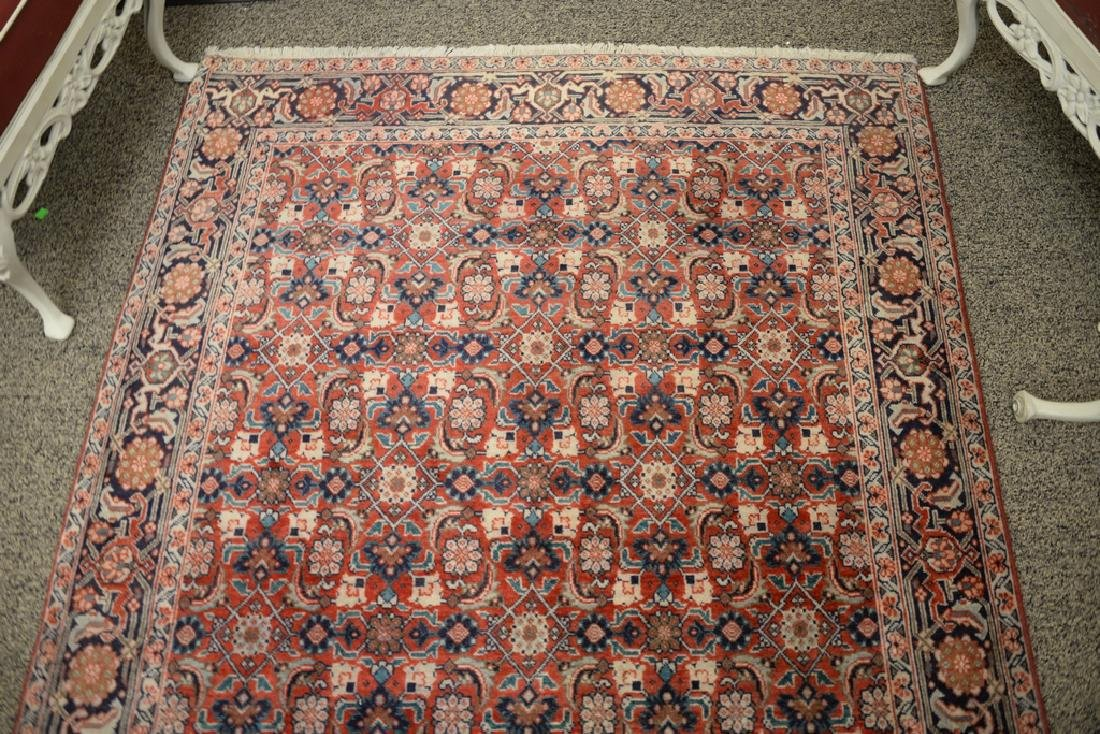 "Oriental throw rug.  4'3"" x 6'4"" - 2"