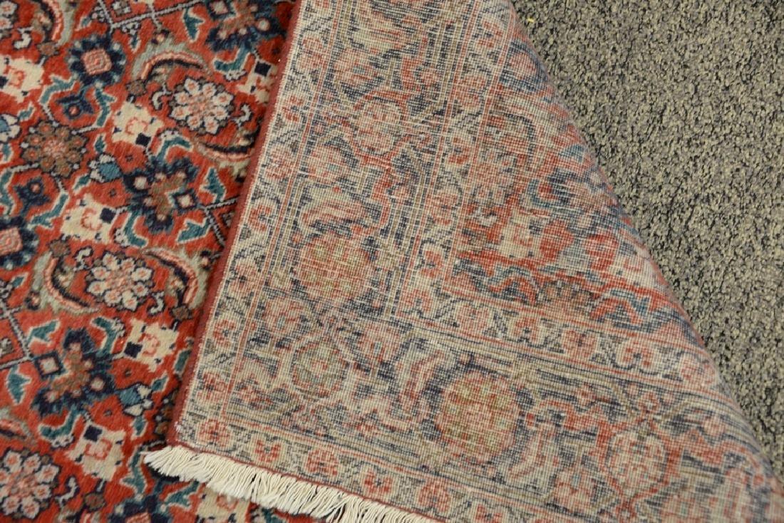 "Oriental throw rug.  4'3"" x 6'4"" - 3"