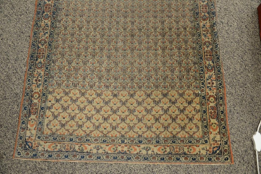 "Oriental throw rug.  3'3"" x 4'10""  Provenance: Estate - 2"