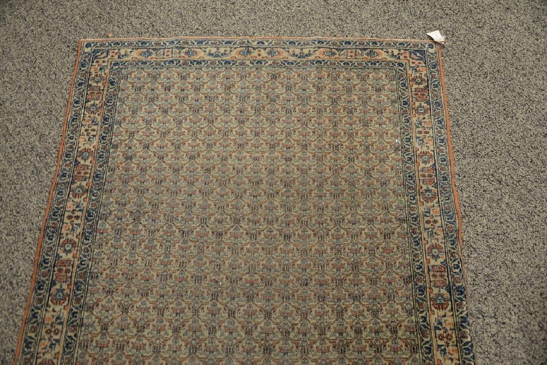 "Oriental throw rug.  3'3"" x 4'10""  Provenance: Estate - 3"