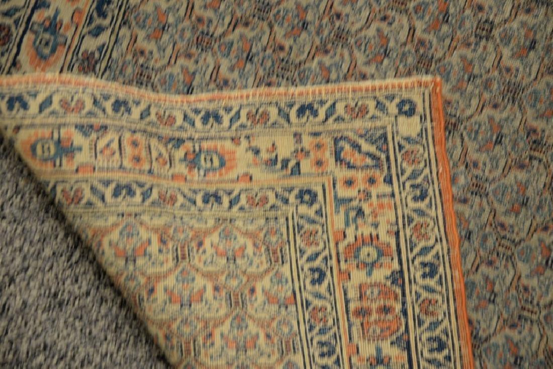 "Oriental throw rug.  3'3"" x 4'10""  Provenance: Estate - 4"