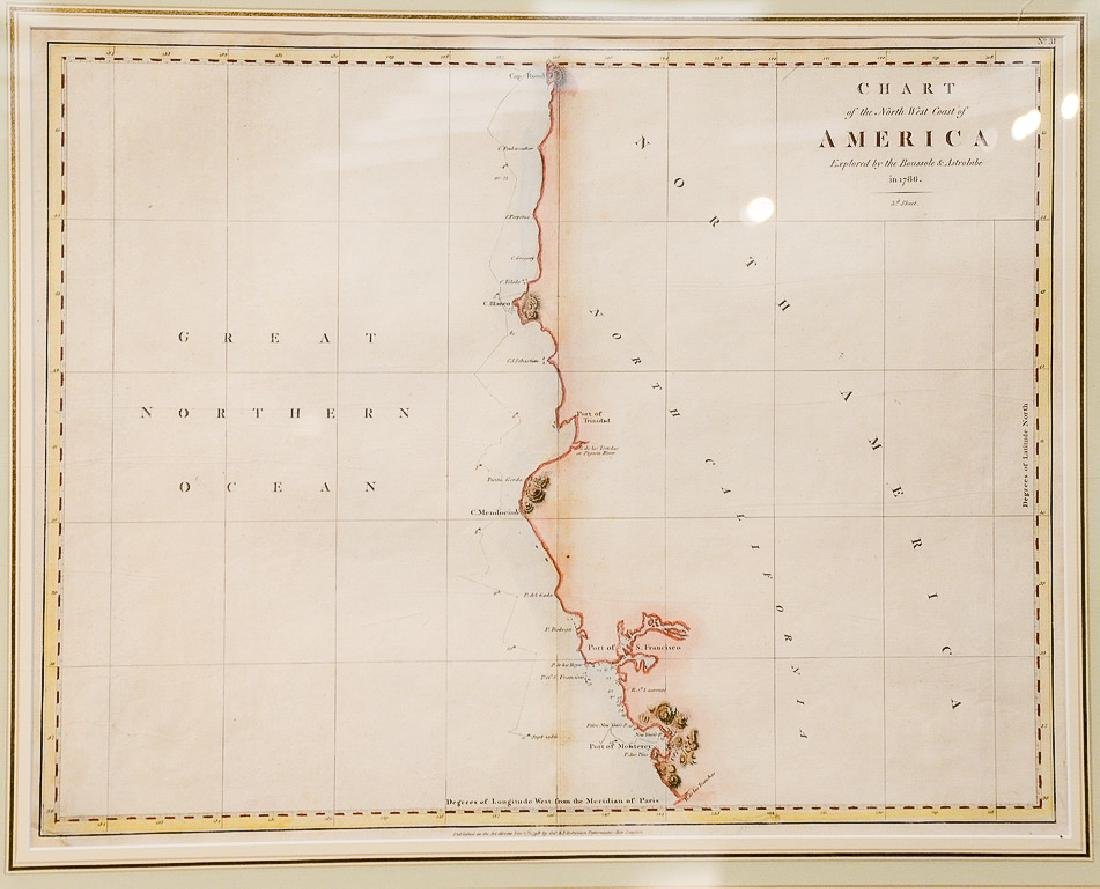 Chart of the Northwest Coast of America, explored by