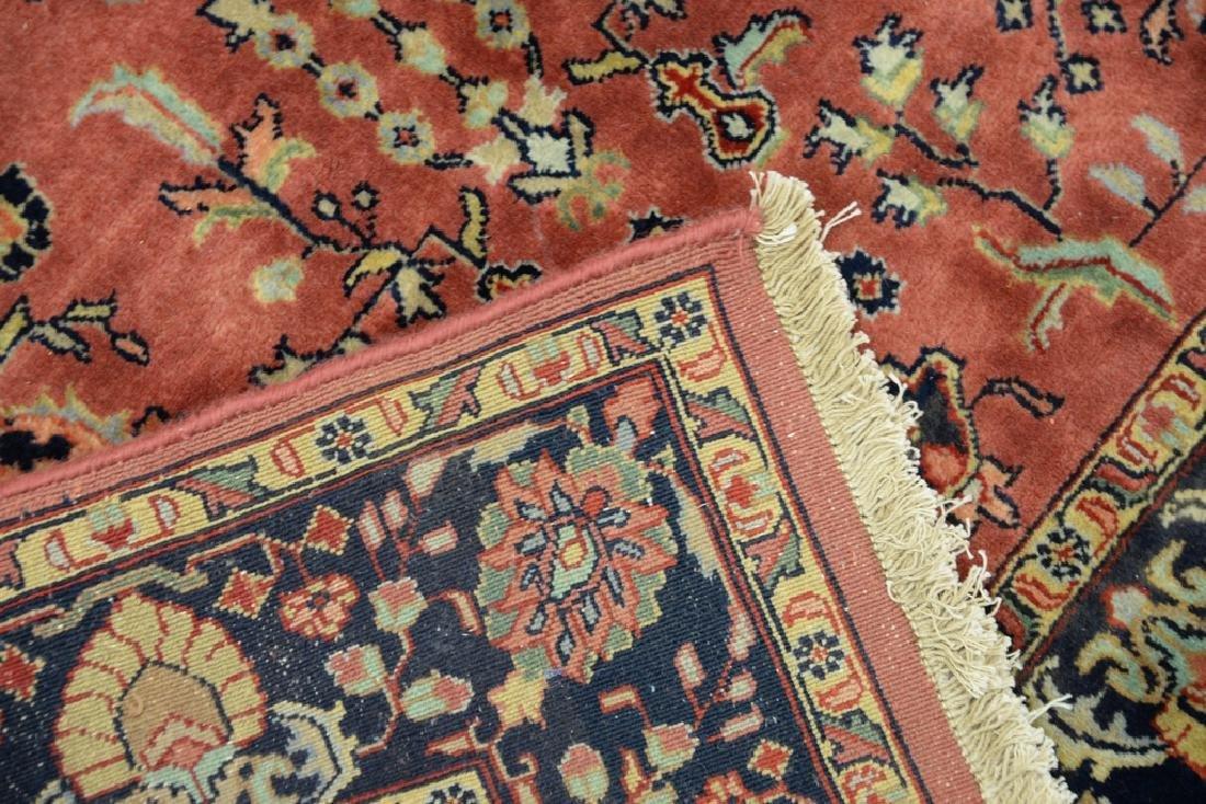 "Sarouk Oriental throw rug.  3'10"" x 6' - 4"