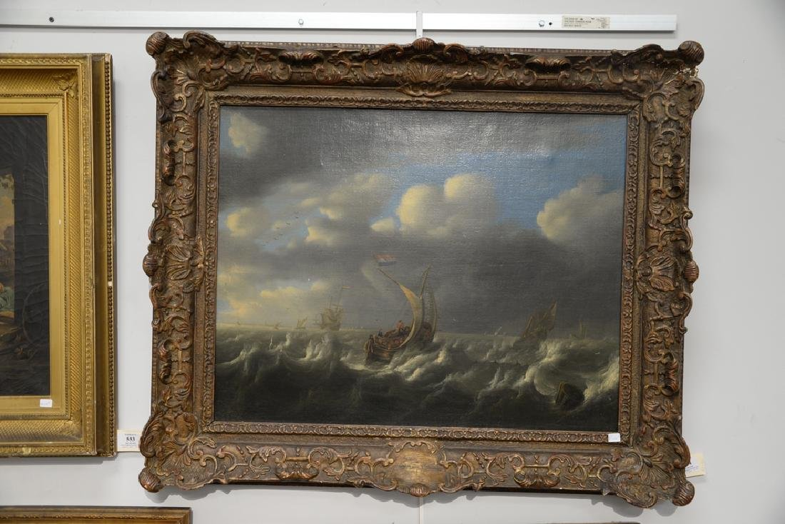 Seascape,  oil on canvas,  early 20th century copy of - 2
