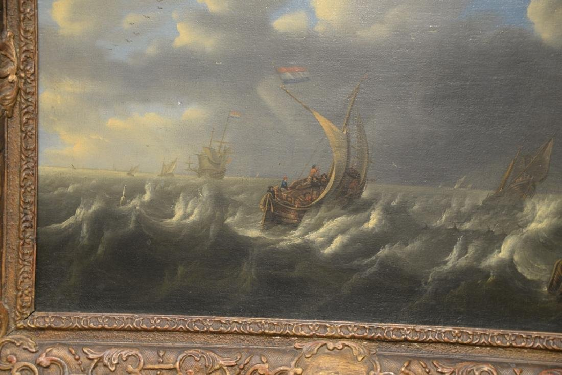 Seascape,  oil on canvas,  early 20th century copy of - 3