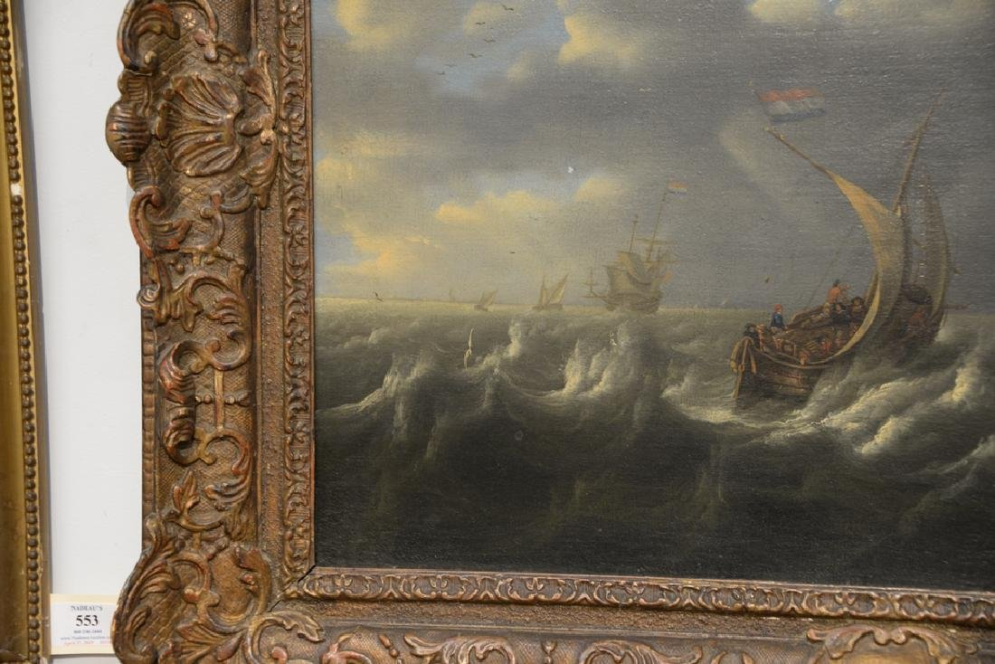 Seascape,  oil on canvas,  early 20th century copy of - 4
