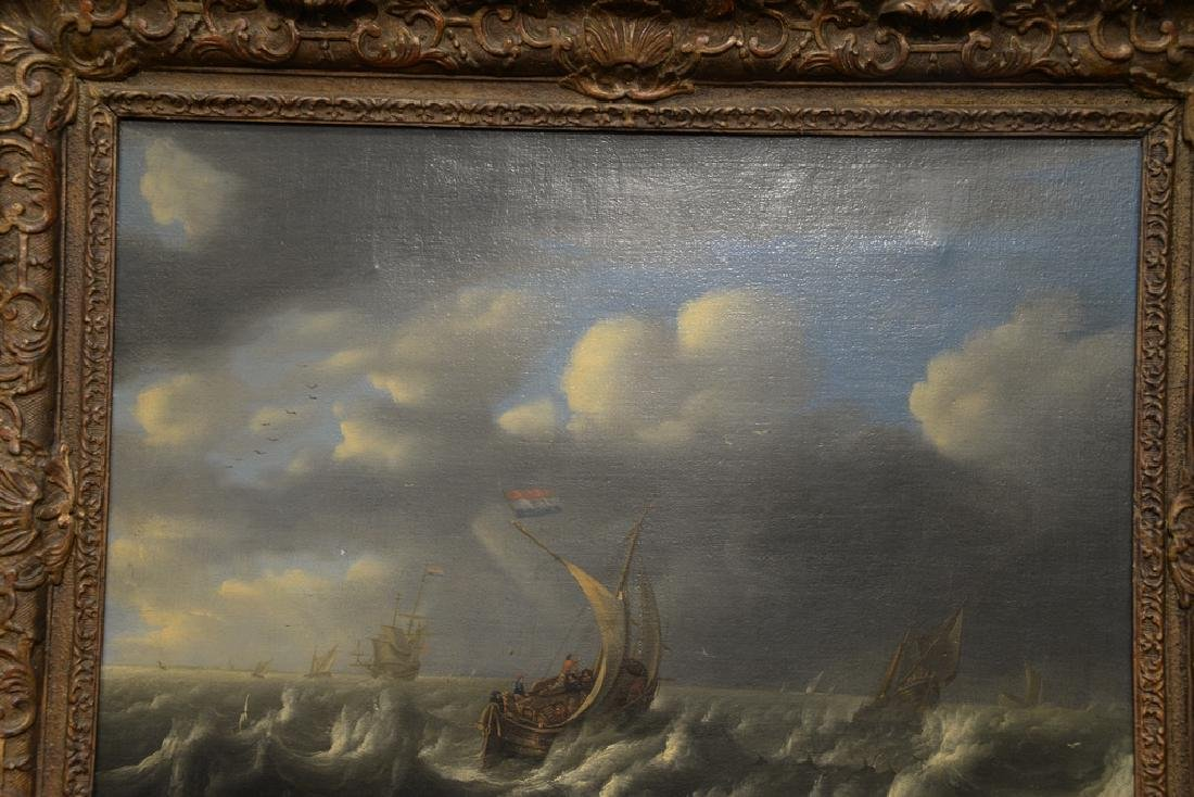 Seascape,  oil on canvas,  early 20th century copy of - 6