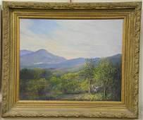 Frank Gervasi (1895-1986), oil on canvas, Big Bend