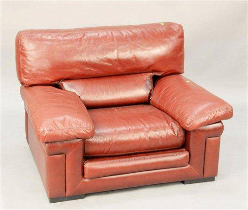Remarkable Roche Bobois Oversized Maroon Leather Chair Wd 45 Bralicious Painted Fabric Chair Ideas Braliciousco