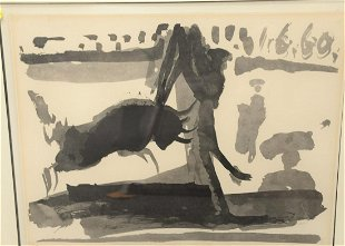 Picasso Offset Lithograph Bullfight 1960 - Jan 11, 2019 | Liran in
