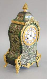 Regence style green ormolu mounted and stained