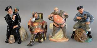 Four Royal Doulton Figures to include Falstaff The