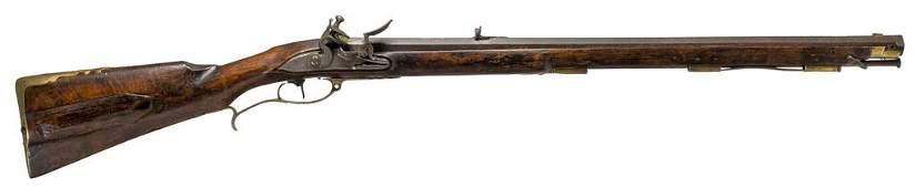 REVOLUTIONARY WAR HANOVERIAN PATTERN 1776 RIFLE  One of
