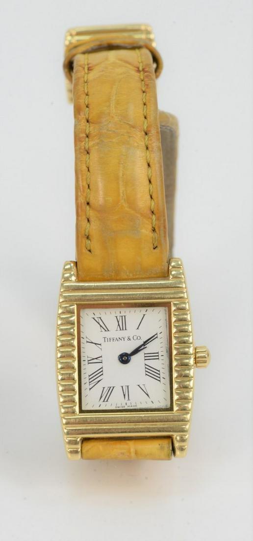 Tiffany and Company 18 Karat Gold Ladies Wristwatch,