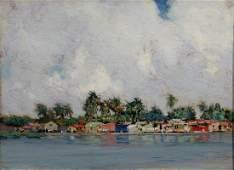 Hermann Dudley Murphy 1867  1945 Shanty town
