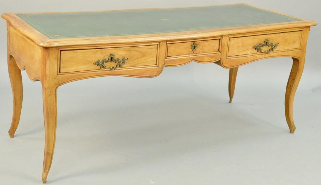 Louis XV Walnut Writing Desk, French provincial with