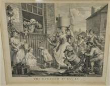 William Hogarth etchingengraving The Enraged