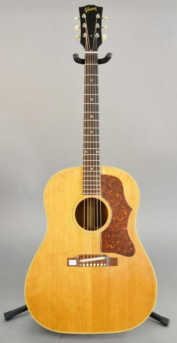 Gibson Acoustic guitar, model J-50 serial number
