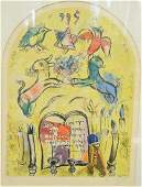 Marc Chagall RussianFrench 1887  1985 colored