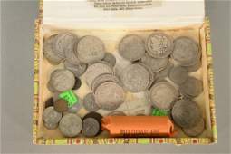 Group of coins to include 20 US Liberty head Morgan