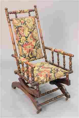 Hunzinger upholstered rocker seat ht 15 12