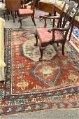 Kazak throw rug, 6