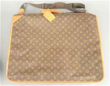 Louis Vuitton monogram canvas suitcase, soft-sided