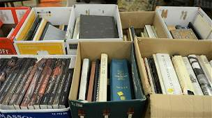 Large group of books to include antique reference