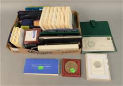 Coin lot to include large box lot of St Patricks