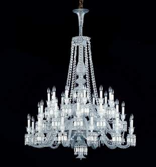 Baccarat Crystal Zenith Thirty-Six Light Chandelier