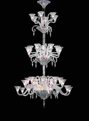 Baccarat Crystal Mille Nuits Forty-two Light Chandelier