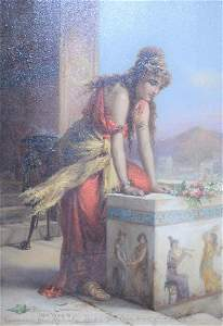 Diana Coomans (Belgian, 1861 - 1952) Mediterranean