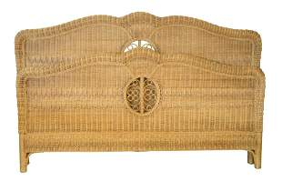 Ralph Lauren Four Piece Wicker Lot to include chest,
