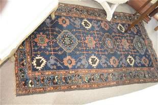 Hamadan Oriental Throw Rug 3