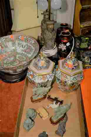 Group Lot of Assorted Items to include pair of
