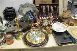 Large Group of Miscellaneous Items to include silver