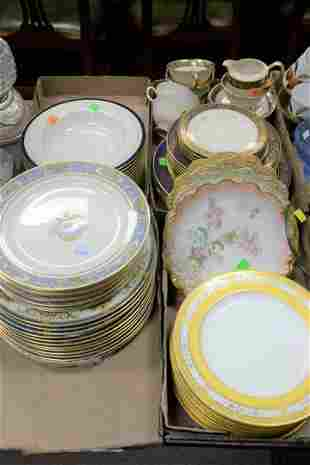 Large Group of mismatched Porcelain China to include