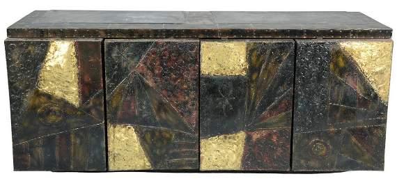 Paul Evans Patchwork Brutalist Modern Cabinet, model
